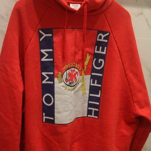 VETEMENTS X Tommy Hilfiger Red Hoodie